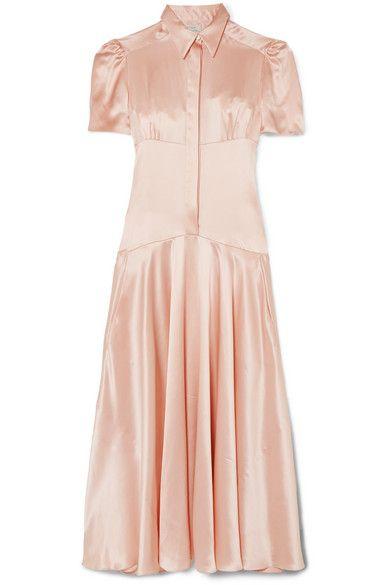 Hillier Bartley Plimpton silk-satin midi dress