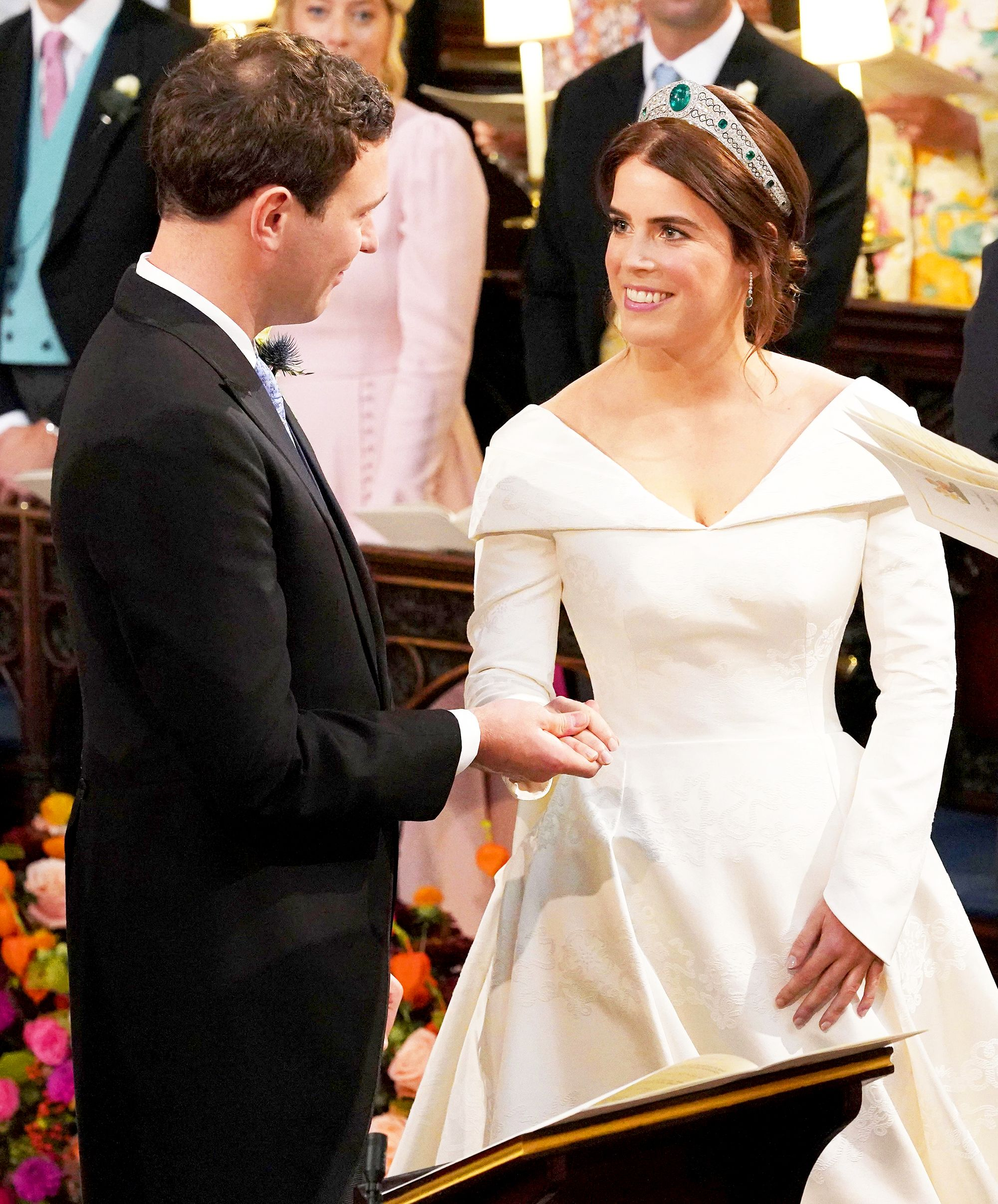Jack Brooksbank Said the Sweetest Thing as Princess Eugenie Walked Down the Aisle Jack Brooksbank Said the Sweetest Thing as Princess Eugenie Walked Down the Aisle new photo