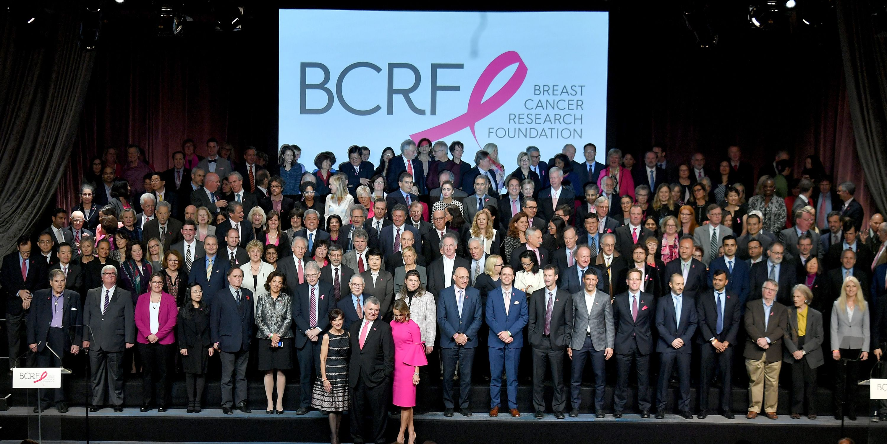 This was no average midday meal. More than 300 scientists from around the world were recognized on October 25 during the Breast Cancer Research Foundation's annual symposium and awards luncheon, held at the New York Hilton Midtown.