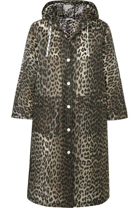 Clothing, Outerwear, Sleeve, Coat, Hood, Fur, Overcoat, Dress, Pattern, Jacket,