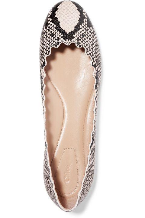 Footwear, Shoe, Ballet flat, Court shoe, Slingback, Beige, Bridal accessory, Fashion accessory,