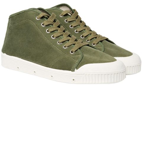 Footwear, Shoe, Sneakers, Green, Khaki, Beige, Outdoor shoe, Sportswear, Skate shoe, Plimsoll shoe,