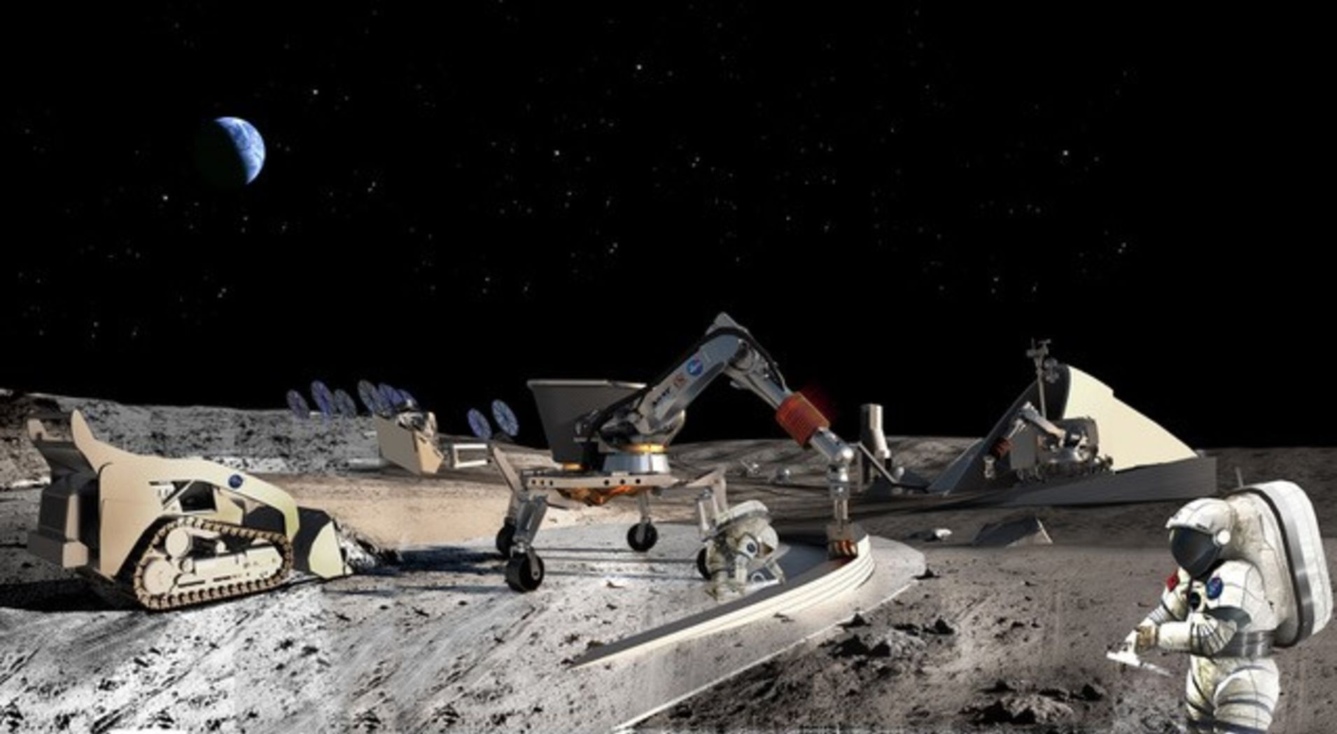 Construction Company Caterpillar Wants To Mine the Moon