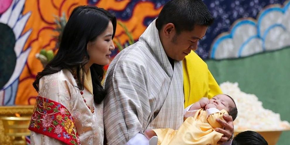 Bhutan's King and Queen Reveal the New Royal Baby's Name