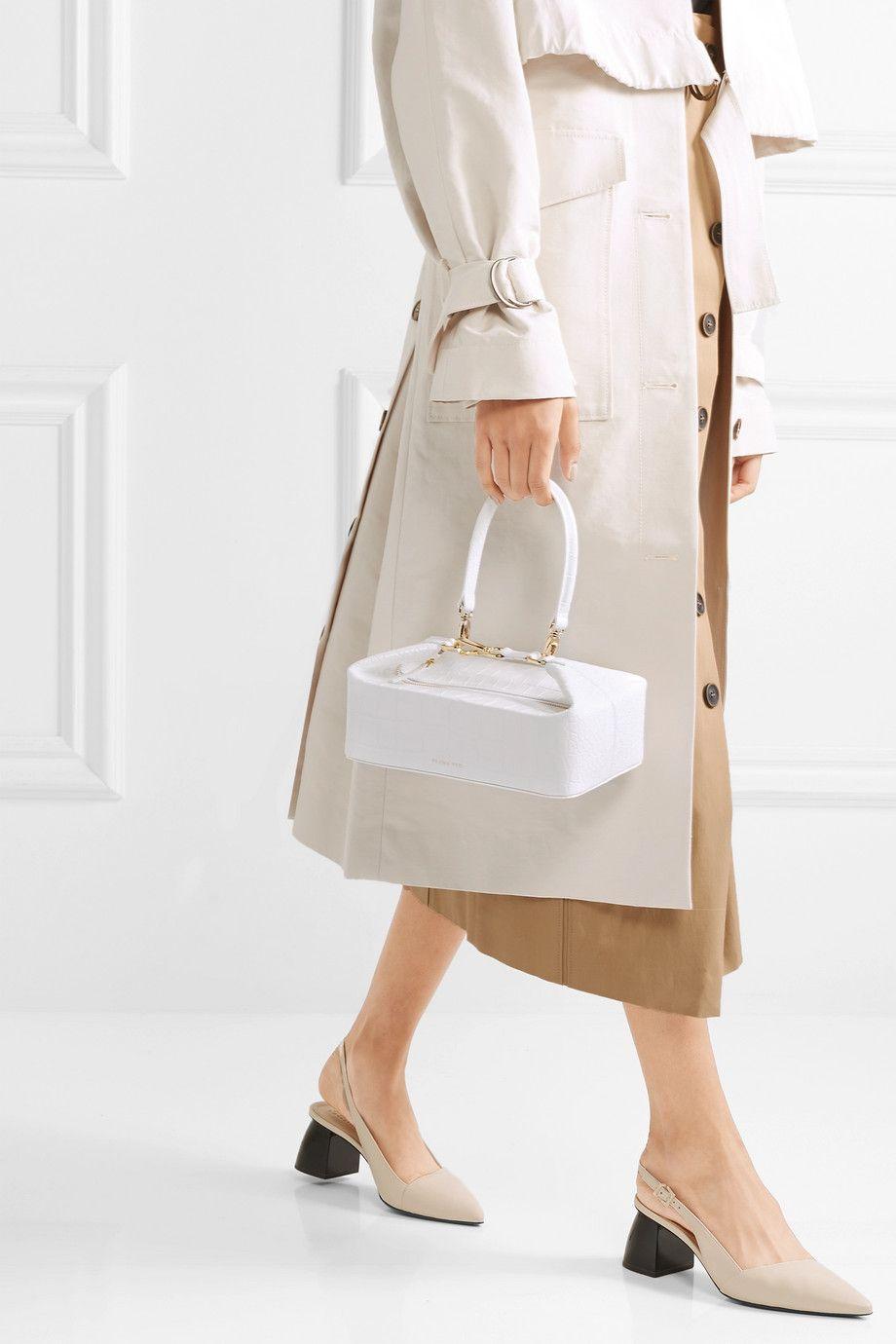 borse bianche inverno, moda borse bianche 2019
