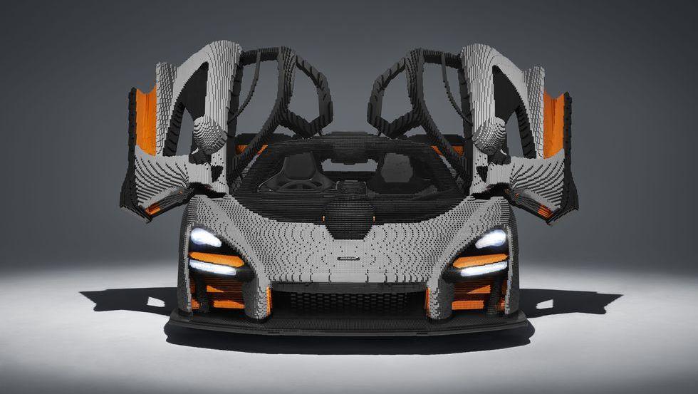 It Took 467,854 Lego Bricks to Build This McLaren Senna