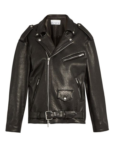Jacket, Clothing, Leather, Outerwear, Leather jacket, Sleeve, Textile, Top,