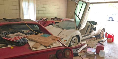 The Ultimate 1980s Barn Find