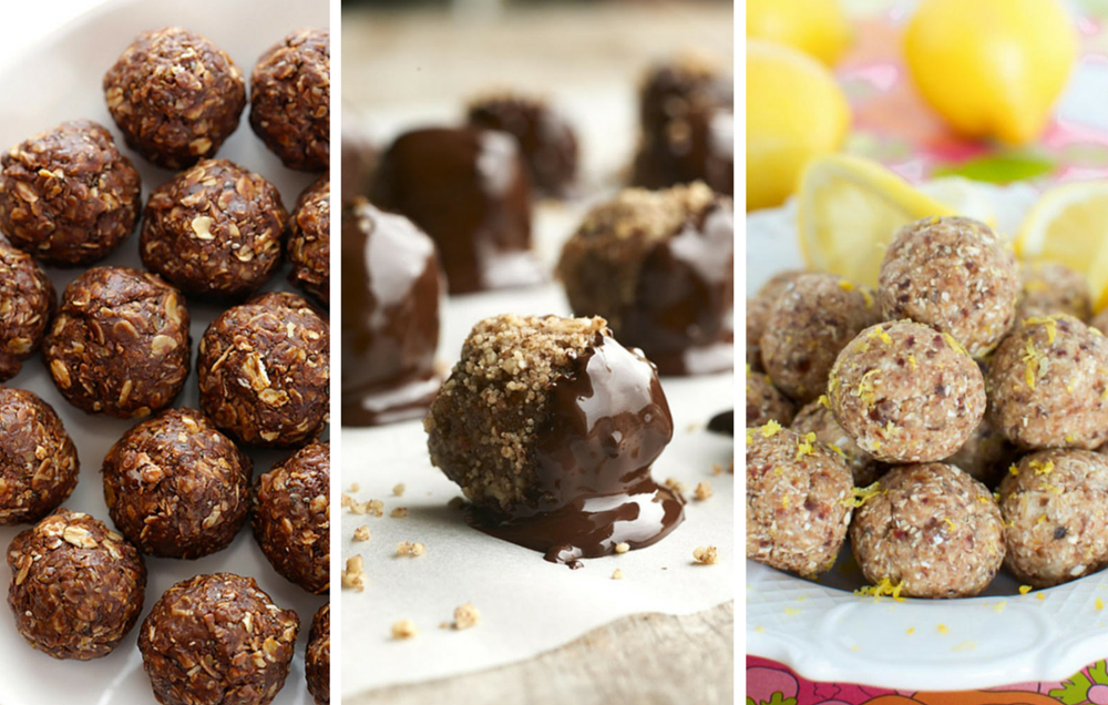 18 No-Bake High-Protein Energy Bites for Easy Fueling