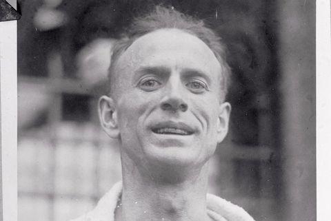 Boston Marathon 1930 Clarence DeMar