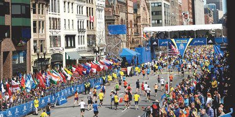 2013 Boston Marathon Boylston Street