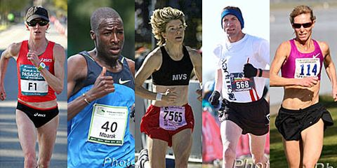 2013 Top Masters Long Distance Runners