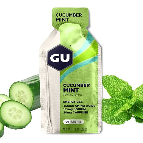 GU energy gels for runners