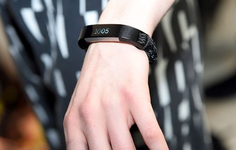 fitbit hand