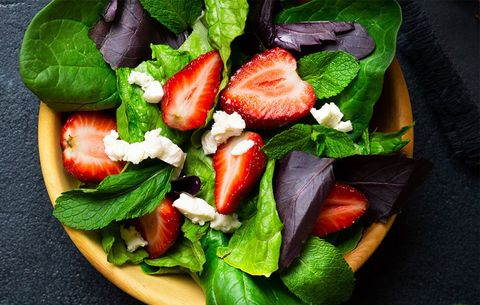 To increase your non-heme iron absorption, eat spinach with strawberries