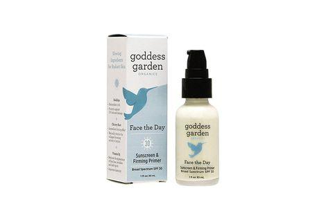 Goddess Garden mineral sunscreen