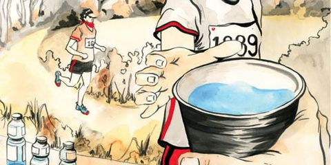 aid station illustration