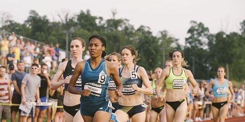 Ajee' Wilson Takes the 800m