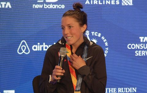 Allie Kieffer NYC Podium