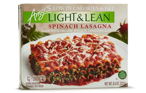 Amy's Light & Lean Spinach Lasagna