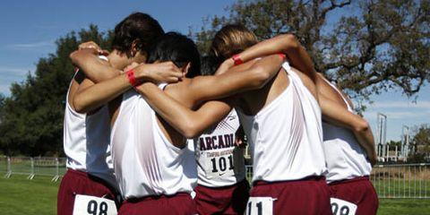 Arcadia Boys XC Rankings 11/6