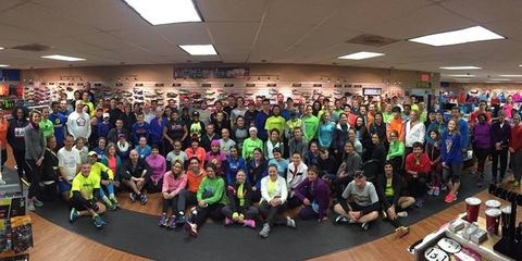 Runners at The Runner in Arlington, Texas