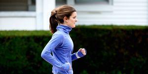 Hannah McGoldrick running