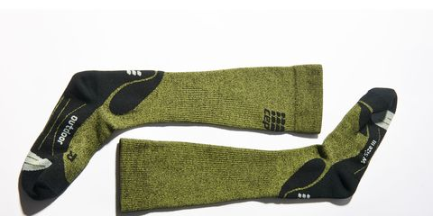 Green, Sock, Woolen, Wool, Fiber,