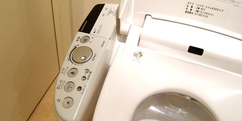 Japanese electronic toilet