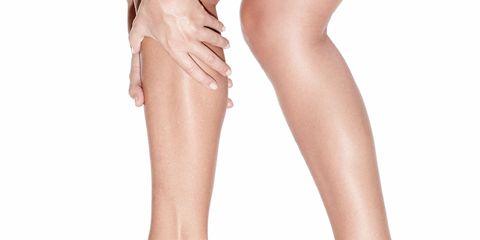 Footwear, Leg, Brown, Human leg, Joint, White, Pink, Style, Tan, Fashion,