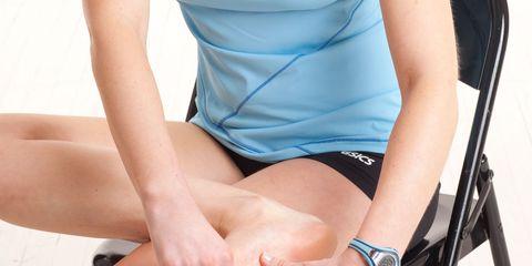 Human leg, Joint, Elbow, Toe, Thigh, Wrist, Knee, Muscle, Foot, Calf,