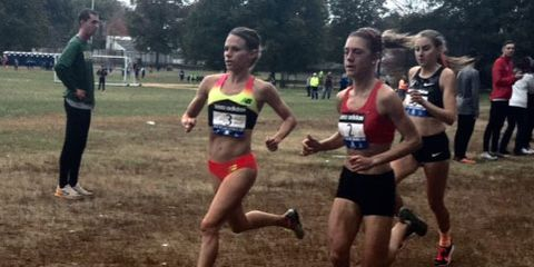 Liz Costello wins her first race as a professional.