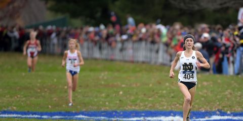 Molly Seidel wins the 2015 NCAA cross-country championship.
