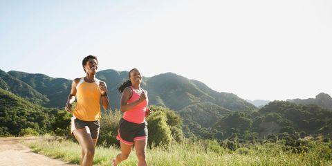Mountainous landforms, Landscape, Hill, Outdoor recreation, Shorts, Running, Trail, Active shorts, Athletic shoe, Jogging,