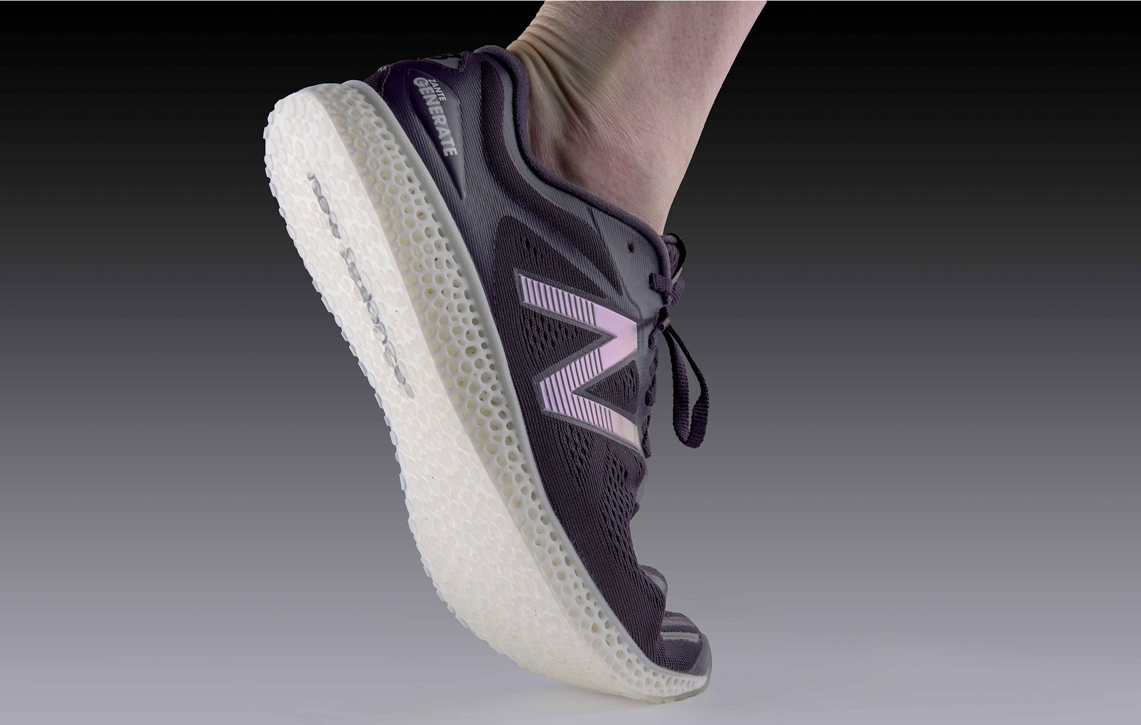New Balance Wins Race for 3D Printed Running Shoe
