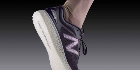 New Balance shoe by 3D printing