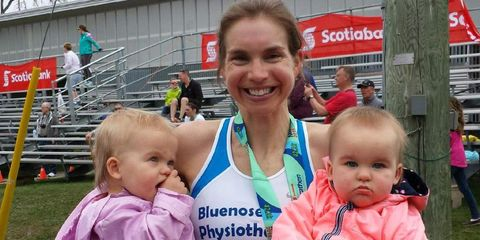 Maura Wieczorek wins marathon