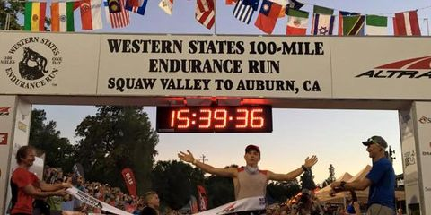 Andrew Miller 2016 Western States Champion