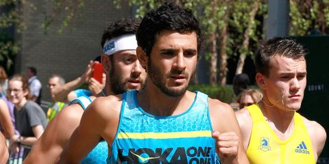 David Torrence at Fifth Avenue Mile