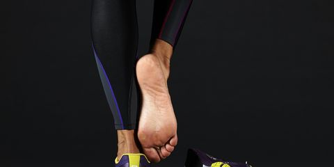 foot with possible plantar fasciitis