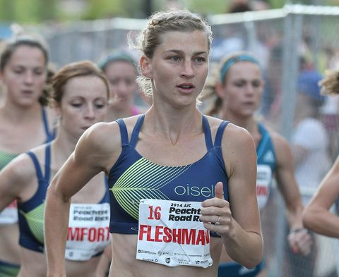 Lauren Fleshman 2014 Peachtree Road Race