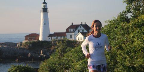 Erin Chalat running