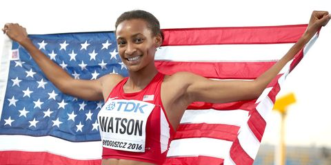 Samantha Watson IAAF U20 championships