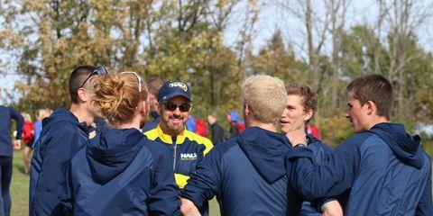 Eric Heins coaches NAU men