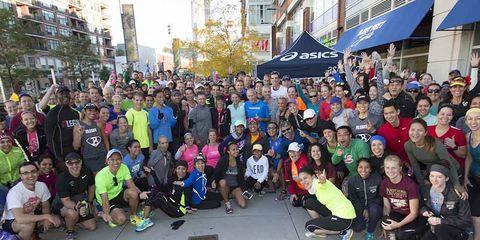 2015 Chicago Marathon RW Shake Out Run