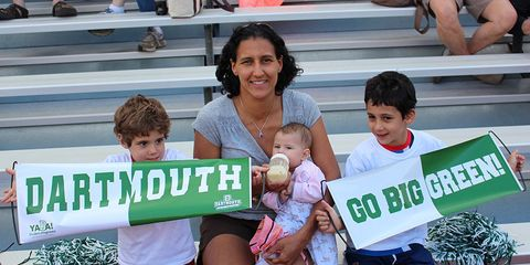 Photo of Maribel Sanchez Souther and her three children