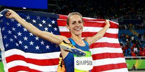 Jenny Simpson Rio Bronze Medal
