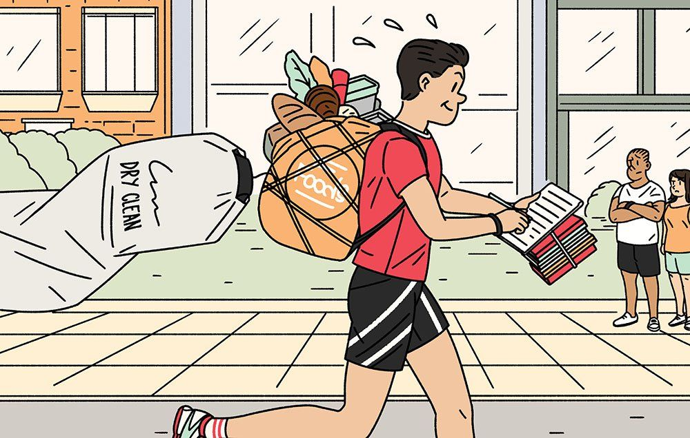The Benefits Of Running Errands