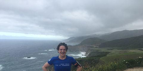 Running the 2016 Big Sur Marathon