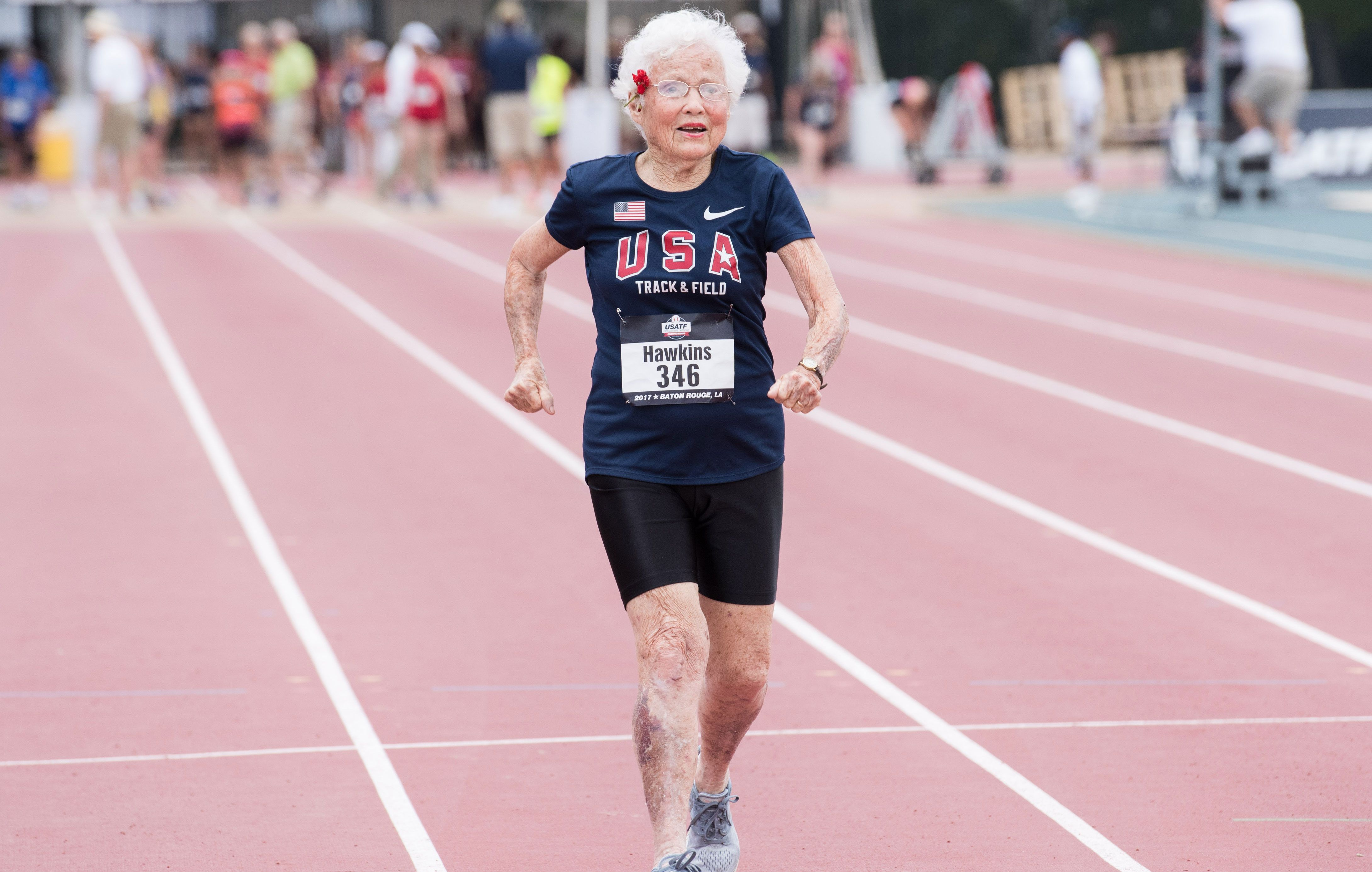 101-Year-Old Champion After Race: I Missed My Nap For This